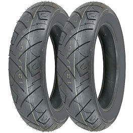 Shinko 777 Tire Combo - Shinko 712 Rear Tire - 100/90-18
