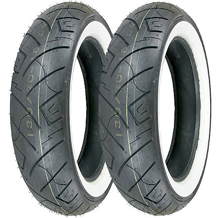 Shinko 777 Whitewall Tire Combo - Main