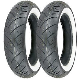 Shinko 777 Whitewall Tire Combo - Shinko 250 Whitewall Tire Combo