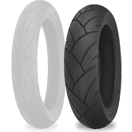 Shinko SE890 Journey Touring Rear Tire - 180/70-16 - Shinko 006 Podium Front Tire - 120/60ZR17
