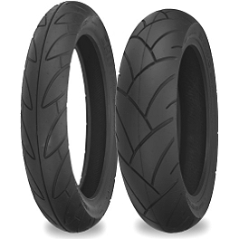 Shinko SE890 Journey Touring Tire Combo - Shinko Classic 240 Whitewall Tire Combo