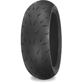 Shinko Hook-Up Drag Rear Tire - 200/50ZR17 - Shinko 009 Raven Front Tire - 120/60ZR17