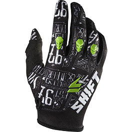 2014 Shift Youth Assault Gloves - Masked - BikeMaster PVC MX Grips