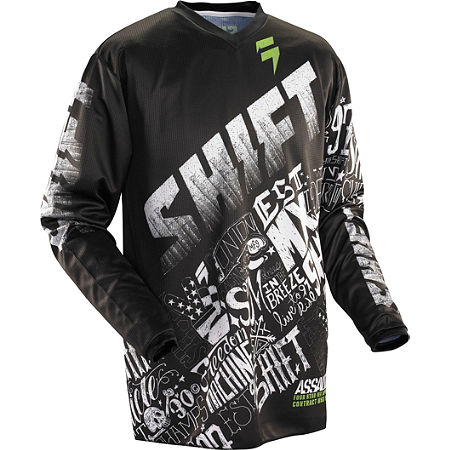 2014 Shift Youth Assault Jersey - Masked - Main