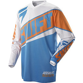 2014 Shift Youth Assault Jersey - Race - 2014 Shift Assault Gloves - Race