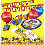 Smooth Industries Superstars Birthday Party Pack - Motorcycle Gifts