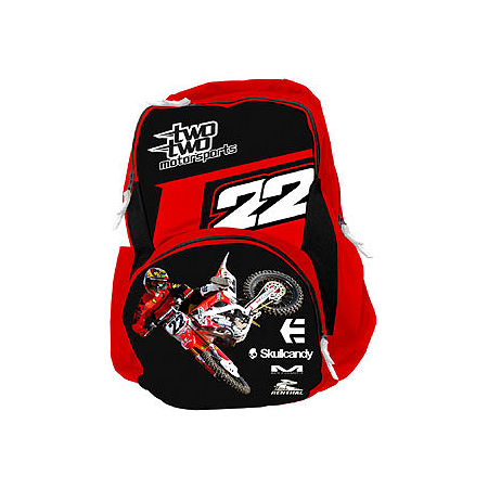 Smooth Industries Chad Reed / Two Two Motorsports Backpack - Main