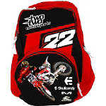 Smooth Industries Chad Reed / Two Two Motorsports Backpack - FEATURED Dirt Bike School Supplies