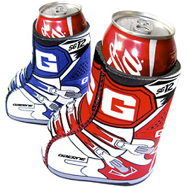 Smooth Industries Gaerne Boot Can Coolers - 2-Pack - Smooth Industries Chad Reed Lunchbox