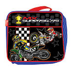 SMOOTH INDUSTRIES MX SUPERSTARS LUNCH BOX - Utility ATV School Supplies