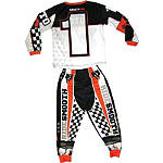 Smooth Industries Smooth Moto X 2-Piece Play Wear - Motorcycle Youth Pajamas