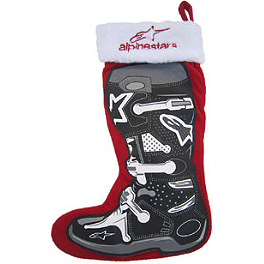 Smooth Industries Limited Edition Alpinestars Holiday Stocking - Smooth Industries Alpinestars Mini Stocking Ornaments - 4-Pack