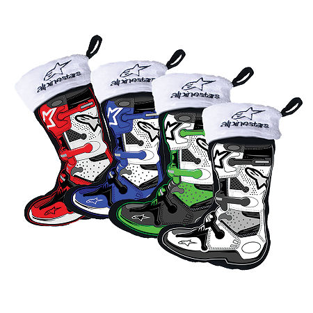 Smooth Industries Alpinestars Mini Stocking Ornaments - 4-Pack - Main