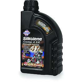 Silkolene 10W40 Comp4 Engine Oil - 1 Liter - Silkolene 10W40 Pro 4 SX Synthetic 4-Stroke Engine Oil - 1 Liter