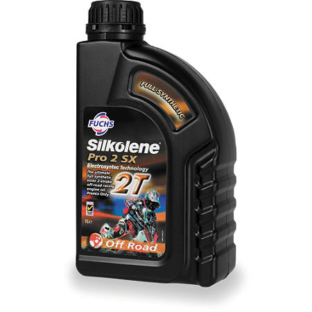 Silkolene Pro-2 SX Synthetic 2-Stroke Oil - 16oz - Main