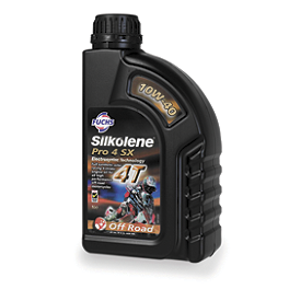 Silkolene 10W40 Pro 4 SX Synthetic 4-Stroke Engine Oil - 1 Liter - Silkolene 10W40 Comp4SX 4-Stroke Engine Oil - 1 Liter