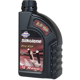 Silkolene 2.5WT Race Suspension Oil - 1 Liter - Acerbis Sahara Gas Tank 6.3 Gallons - Red