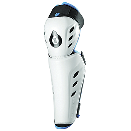 2012 SixSixOne Comp Knee Guards - 2013 EVS Option Knee Pads