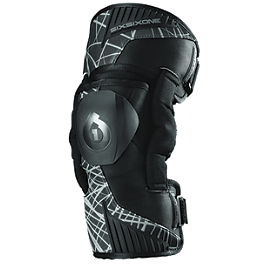 SixSixOne Cyclone Wired Knee Braces - Shock Doctor 875 Ultra Knee Support