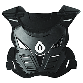 SixSixOne Rogue Roost Deflector - Moto-Gate Tiedowns W/Carabiner & Soft Tie - Black