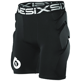 SixSixOne Sub Shorts - EVS Tug Padded Riding Shorts