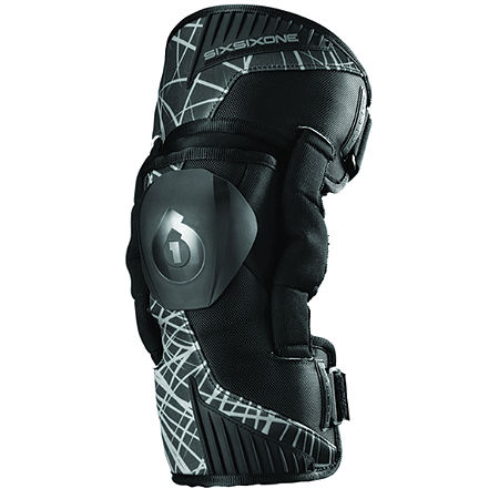 SixSixOne Youth Cyclone Knee Braces - Main