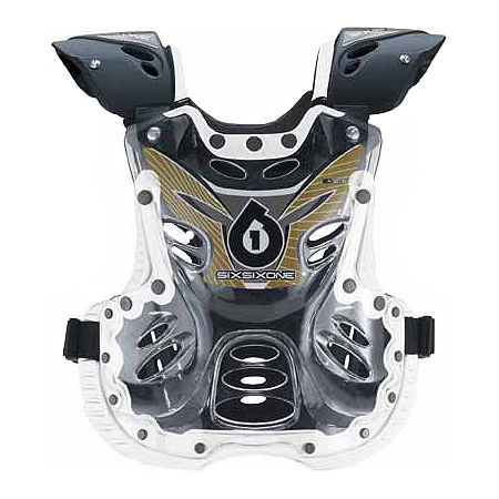 Sixsixone Peewee Defender 2.5 Roost Deflector - Clear - Main