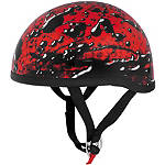 Skid Lid Original Helmet - Oil Spill - Skid Lid Dirt Bike Half Shell Helmets