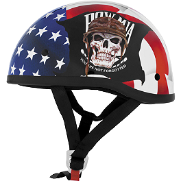Skid Lid Original Helmet - POW MIA - River Road Grateful Dead Helmet - Dancing Skeletons