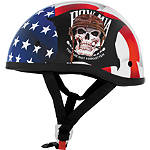 Skid Lid Original Helmet - POW MIA - Skid Lid Dirt Bike Products