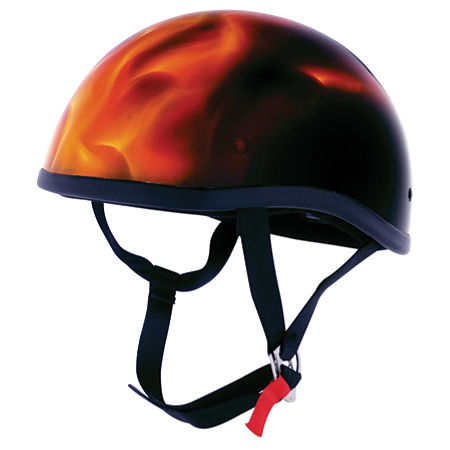 Skid Lid Original Helmet - Real Flames - Main
