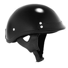 Skid Lid Traditional Helmet - GMAX GM45 Half Helmet - Naked