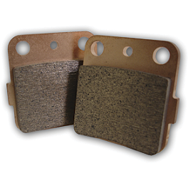 Streamline Brake Pads - Front - 2010 Yamaha GRIZZLY 350 4X4 IRS Galfer Sintered Brake Pads - Front