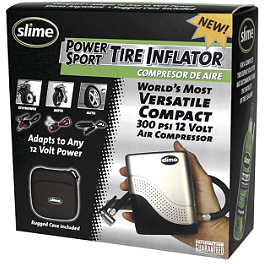 Slime 12V Mini Air Compressor - BikeMaster Air Compressor With Storage Bag