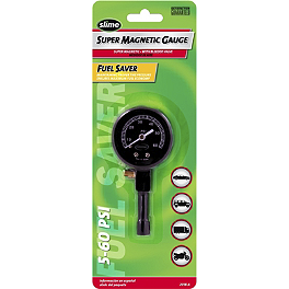 Slime 0-60 PSI Magnetic Dial Tire Pressure Gauge - Slime 5-99 PSI Digital Tire Pressure Gauge
