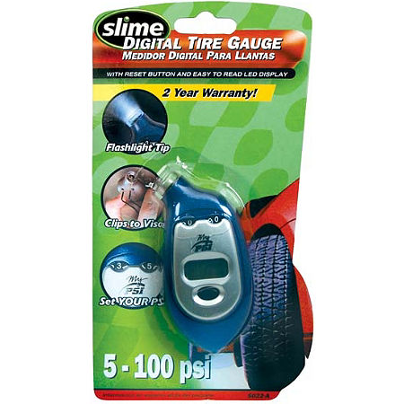 Slime 5-99 PSI Digital Tire Pressure Gauge - Main