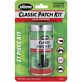 Slime Classic Rubber Repair Patch Kit - Slime Skabs - 6-Pack