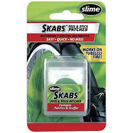 Slime Skabs - 6-Pack - BikeMaster Tire And Tube Patch And Plug Replacement Kit