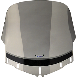 "Slipstreamer Standard 26"" Windshield - Smoke - Kuryakyn Fairing Side Molding Trim"