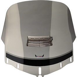 "Slipstreamer Standard 26"" Windshield - Smoke With Vent - Memphis Shades Standard Height Windshield"