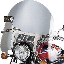 Slipstreamer SS-30 Classic Cruiser For Oversize Forks - Slipstreamer SS-28 Sport Fairing Windshield