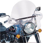 Slipstreamer SS-32 Falcon For Standard Fork Tubes - Cruiser Wind Shield and Accessories