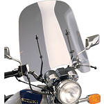 Slipstreamer Cf50 Universal Windshield - Motorcycle Wind Shields