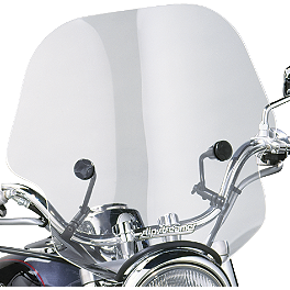 Slipstreamer S-10 Viper Windshield - Slipstreamer Cf40 Universal Windshield