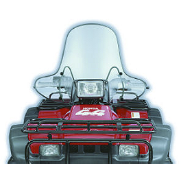 Slipstreamer SS-2 Big Country High Cut-Out ATV Windshield - Clear - Slipstreamer SS-2 Big Country Windshield Standard - Screened