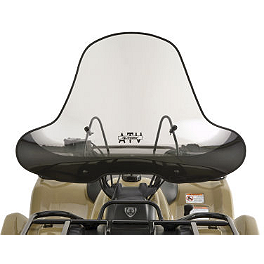 Slipstreamer SS-2 Big Country Windshield Standard - Screened - Moose Windshield Replacement Pucks