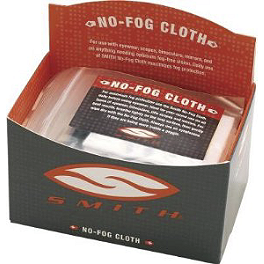 Smith No Fog Cloth - Smith Individual Microfiber Goggle Bag