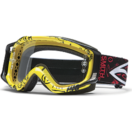 2013 Smith Fuel V2 Sweat X Goggles - Pastrana - 2014 Smith Intake Sweat X Goggles