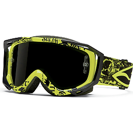 2014 Smith Fuel V2 Sweat X-M Goggles - 2014 MSR Metal Mulisha Hunt Gloves