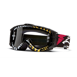 2014 Smith Intake Sweat X Goggles - Pastrana - Fox AIRSPC Enduro Goggles